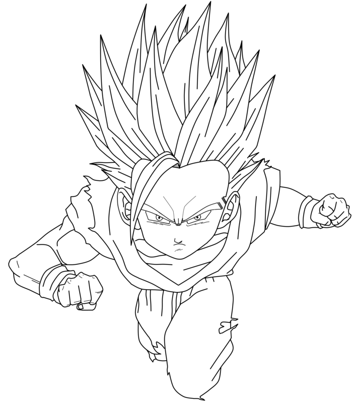 Coloriage Dragon Ball Z 2 AZ