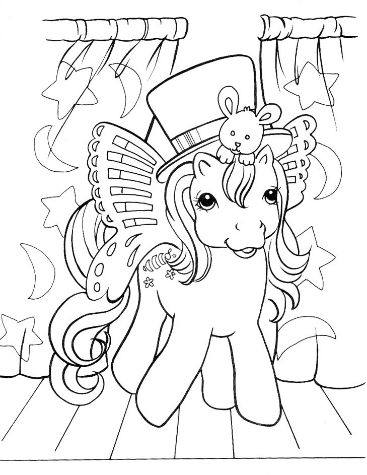 Series My Little Pony print coloring pages. 3