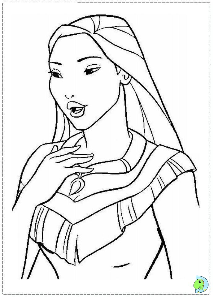 pocahontas disney Colouring Pages