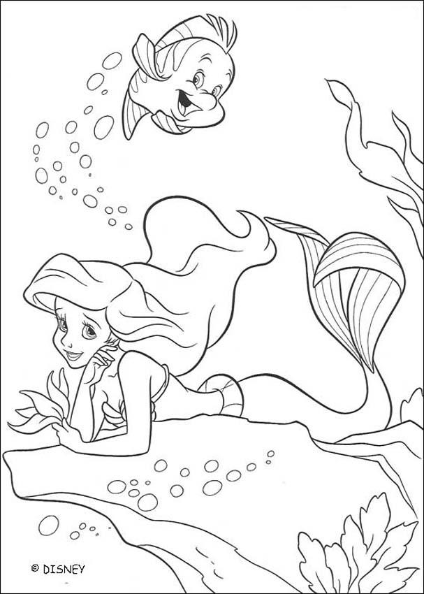 Coloriage Ariel 28 Car Pictures