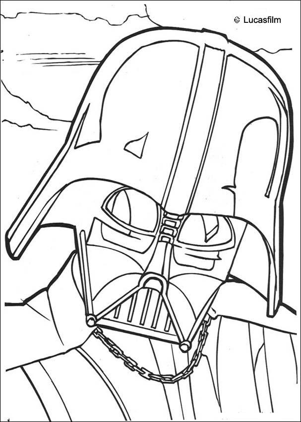 Coloriage STAR WARS - Coloriage STAR WARS de Chewbacca