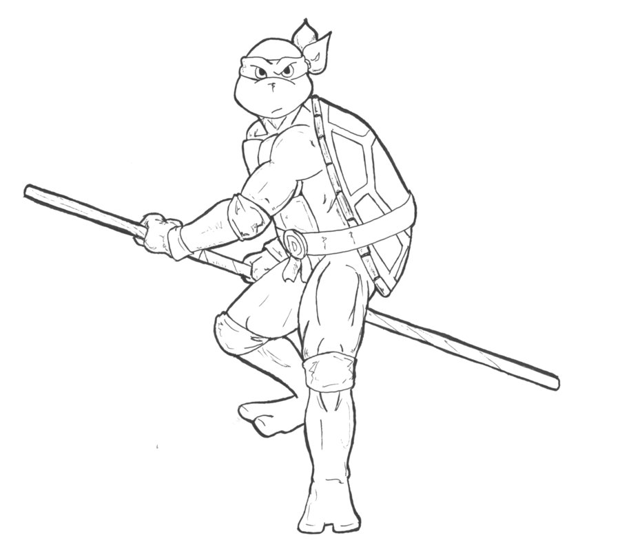 t ninja turtles coloring pages - photo #42