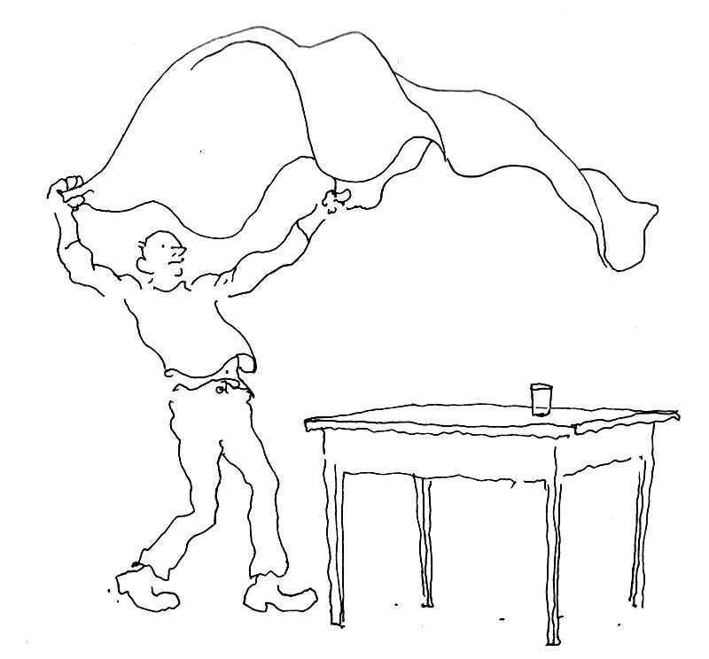 comment dessiner une nappe