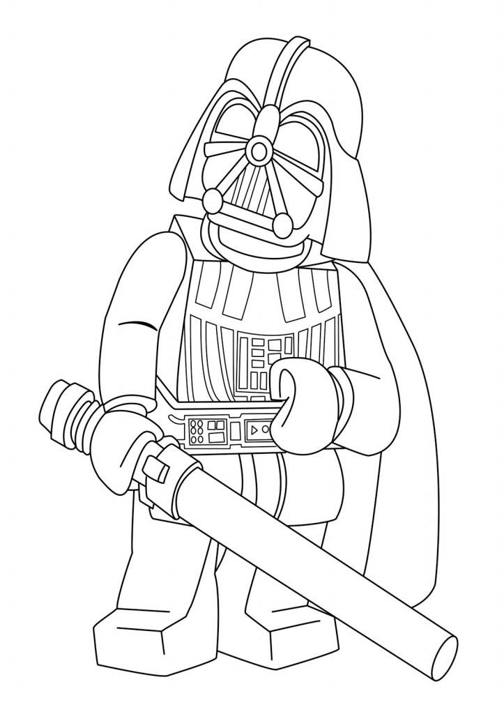 Lego Star Wars Coloring Pages | Cartoon Coloring Pages