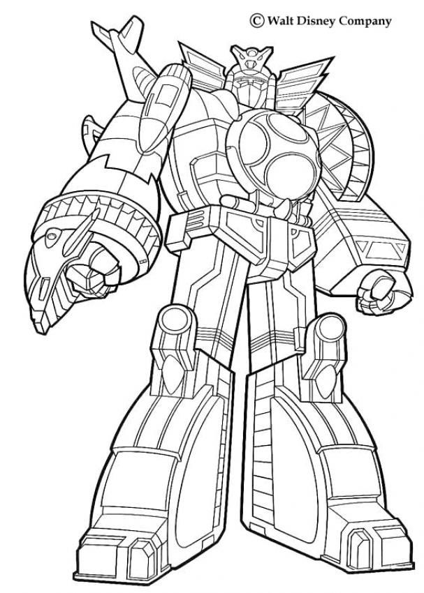 Coloriage De Power Rangers Super Samurai A Imprimer Coloriage Az Coloriage