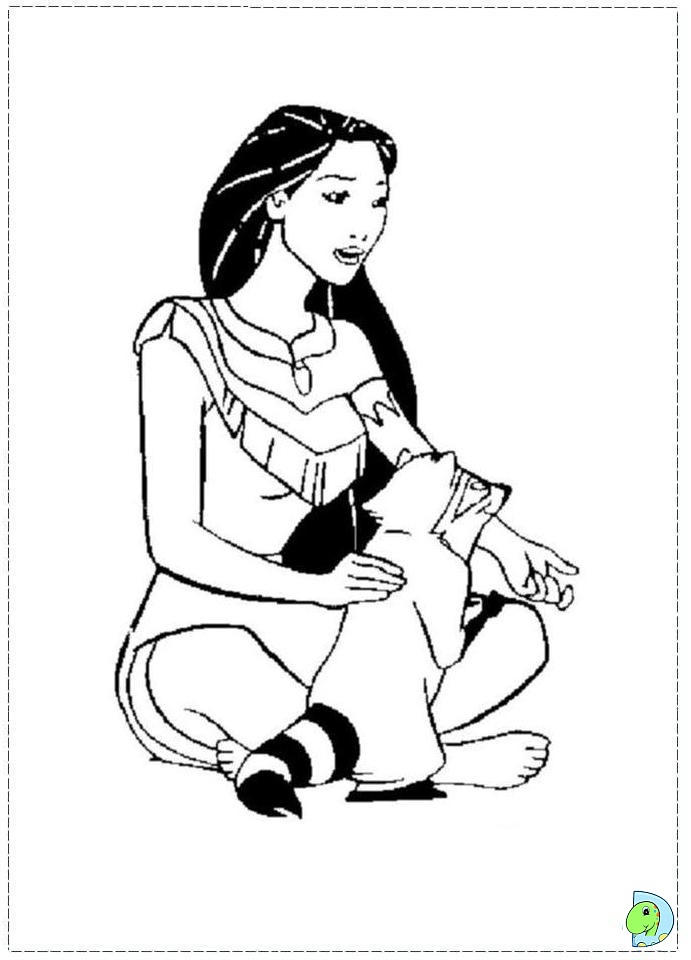 disney pocahontas Colouring Pages