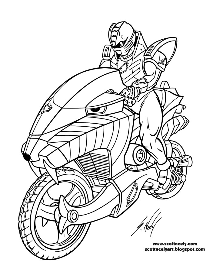 Coloriage power rangers jungle fury - Coloriages power rangers ...
