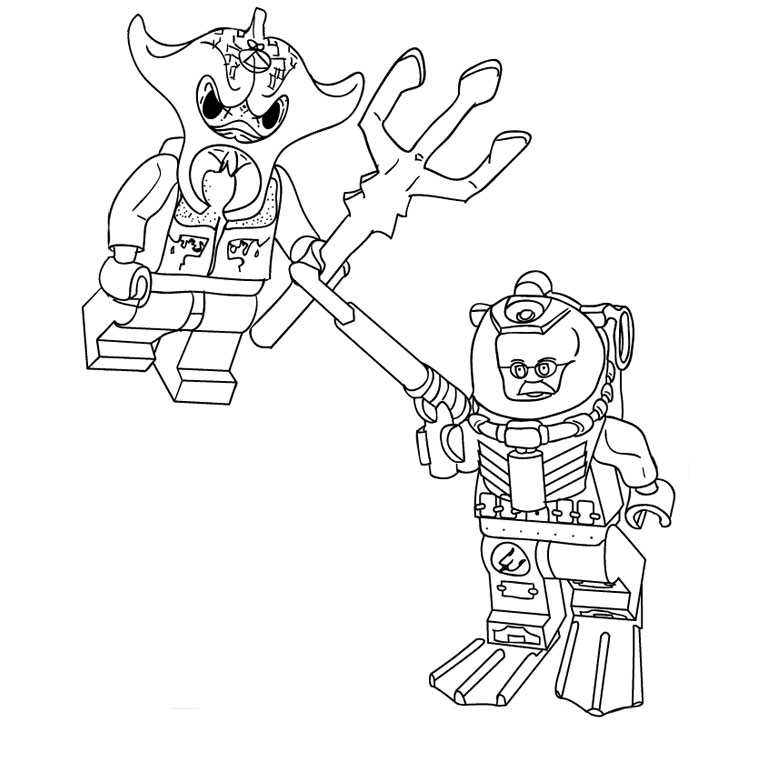 star wars lego Coloriage