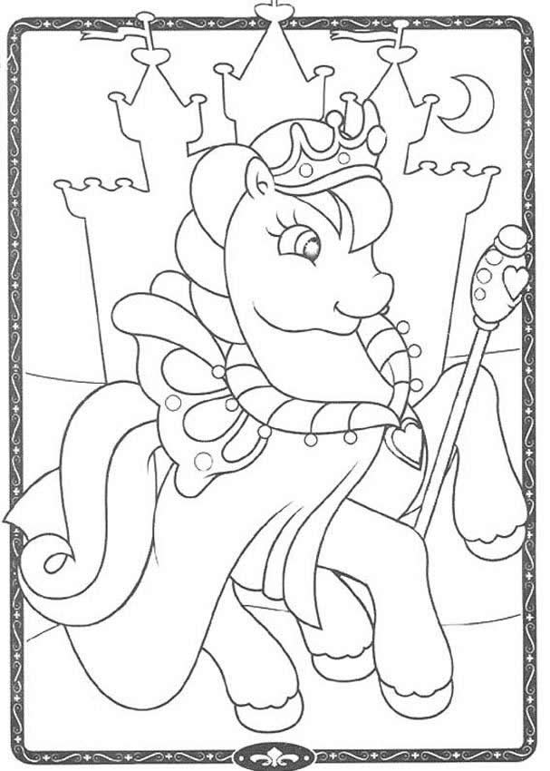 King Of Little Pony Coloring Pages: King Of Little Pony Coloring Pages