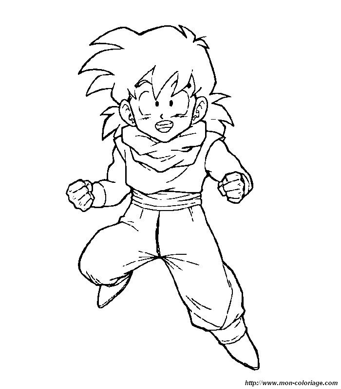 Ball Z Coloriage Sangohan Sangoku Dragon Tattoo
