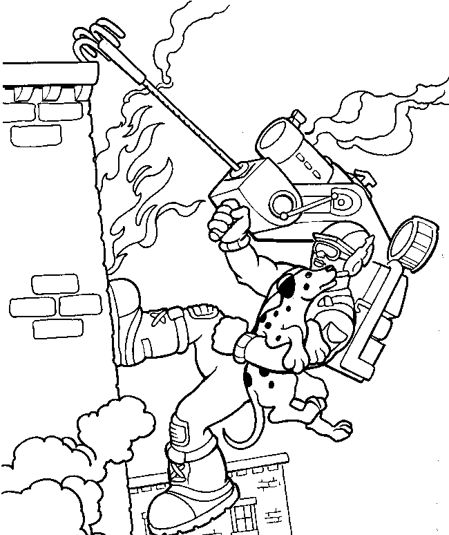 rescue hero coloring pages - photo#11