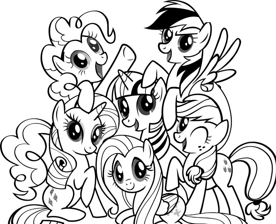 My Little Pony Coloring Pages | ColoringMates.