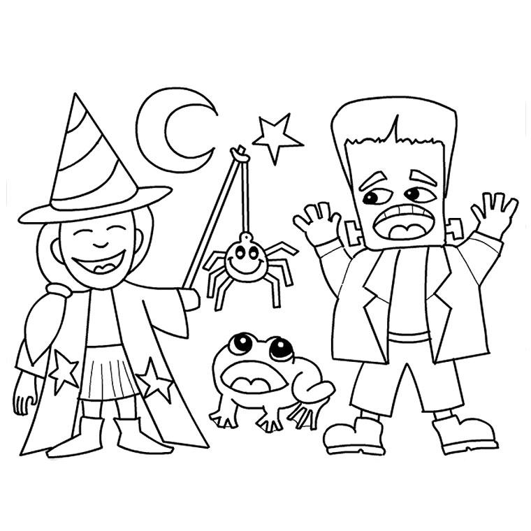 Coloriage De Halloween Az Coloriage