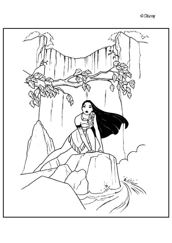 Disney Coloring Pages Pocahontas Images & Pictures - Becuo