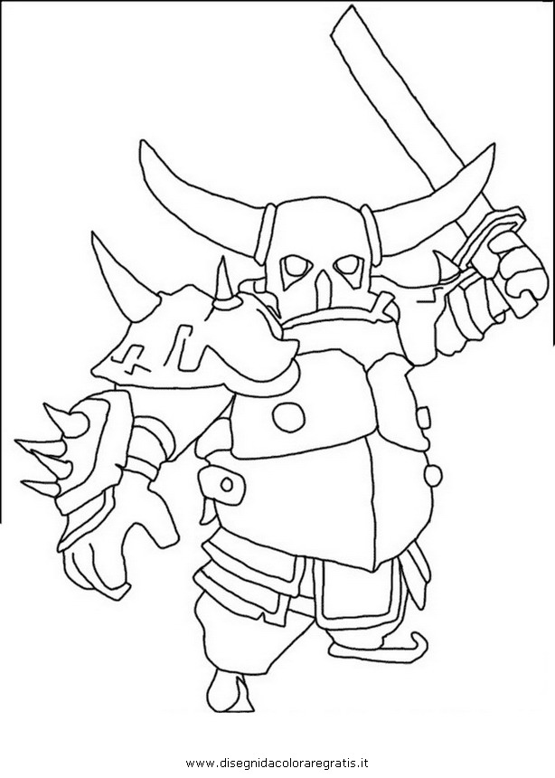 Clash of Clans Drawings Coloriage Dessin Clash of Clan