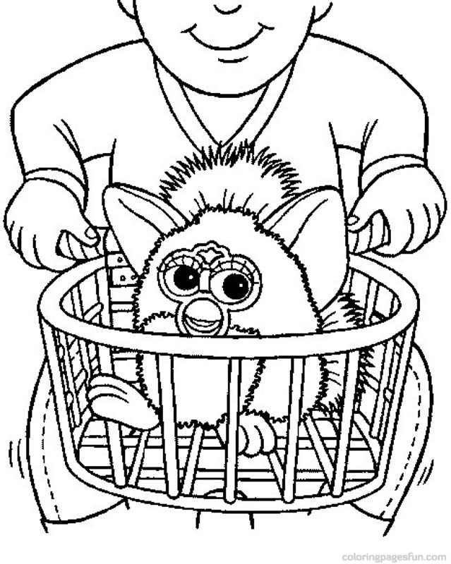 Furby Coloring Pages - Free Printable Coloring Pages