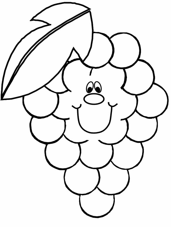 Ugli Fruit Colouring Pages