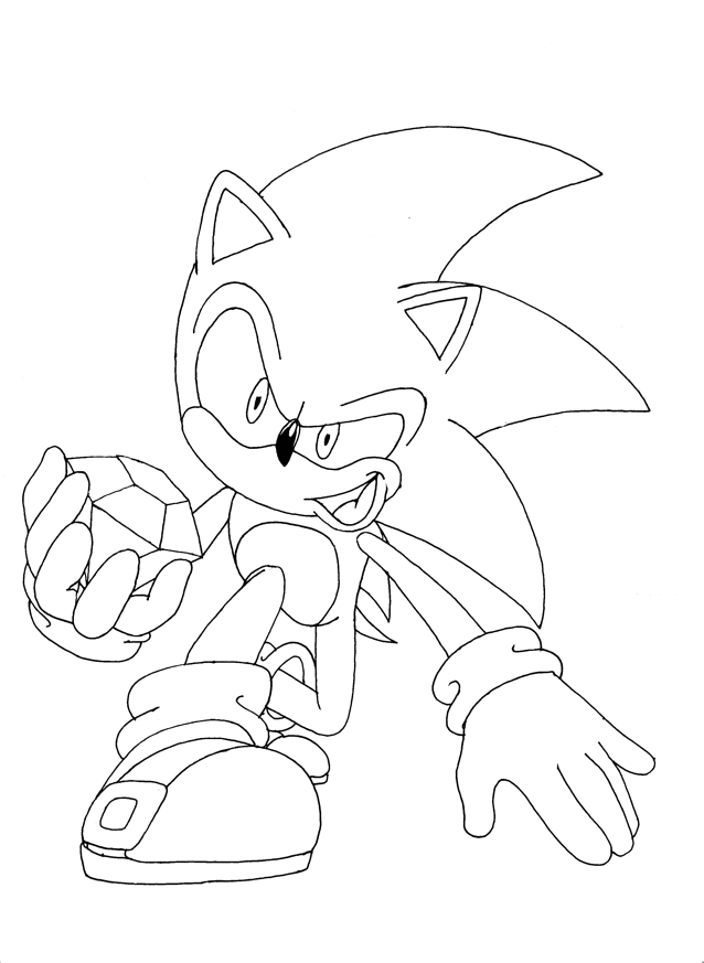 sonic free riders coloring pages Coloriage