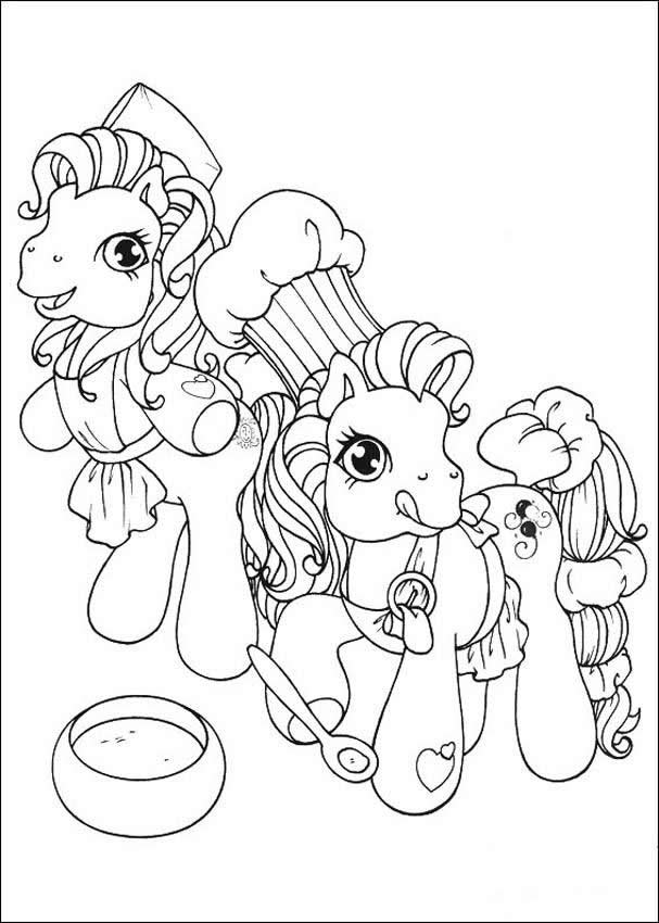 Pony : Coloring pages, Free Kids Games, Reading and Learning