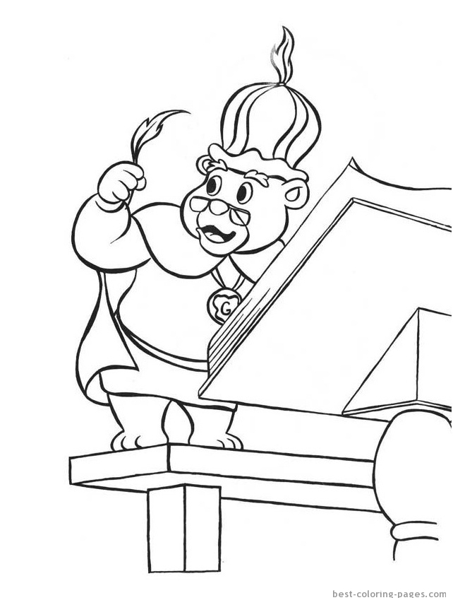 Cartoon Characters Coloring Best Coloring Pages Free