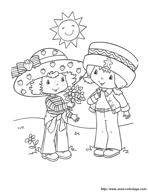 Joli Colouring Pages