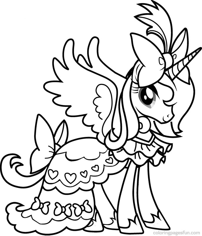 My Little Pony Coloring Pages - Free Printable Coloring Pages