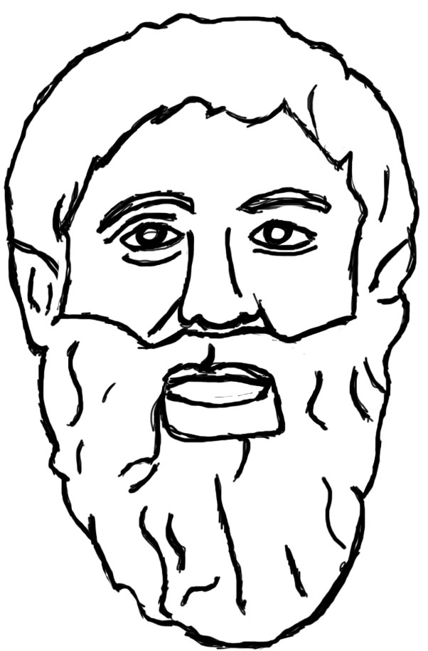 Death Socrates Coloring Pages