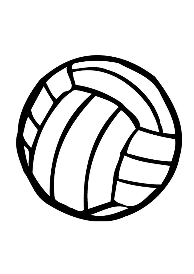Image Coloriage Ballon.Coloriage Ballon De Volley Img 12020 Az Coloriage