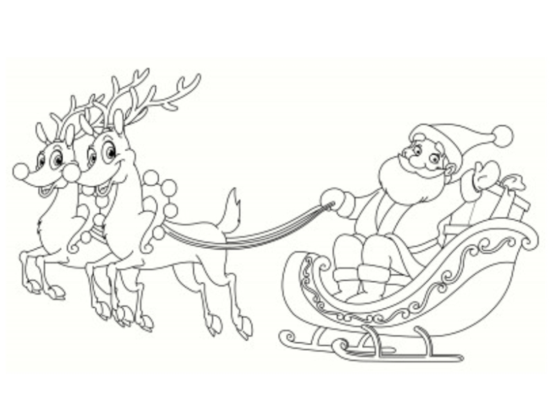 Colorier Un Pere Noel 25 Dessins à Télécharger Az Coloriage