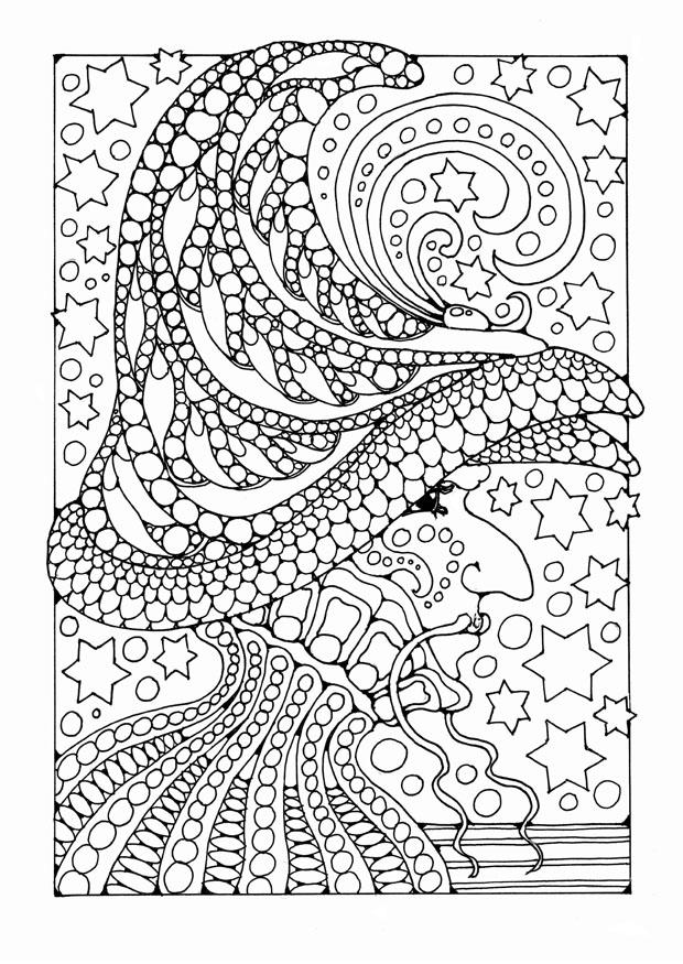 detailed halloween coloring pages - photo#39