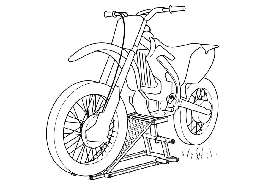 coloriage motocyclette img 19111