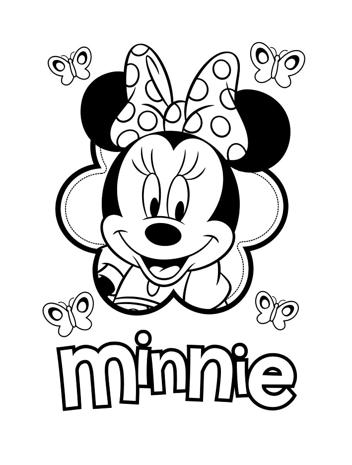 coloriage-minnie-visage_jpg dans Coloriage Minnie | Coloriages à
