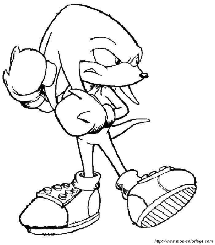super shadow Coloriage