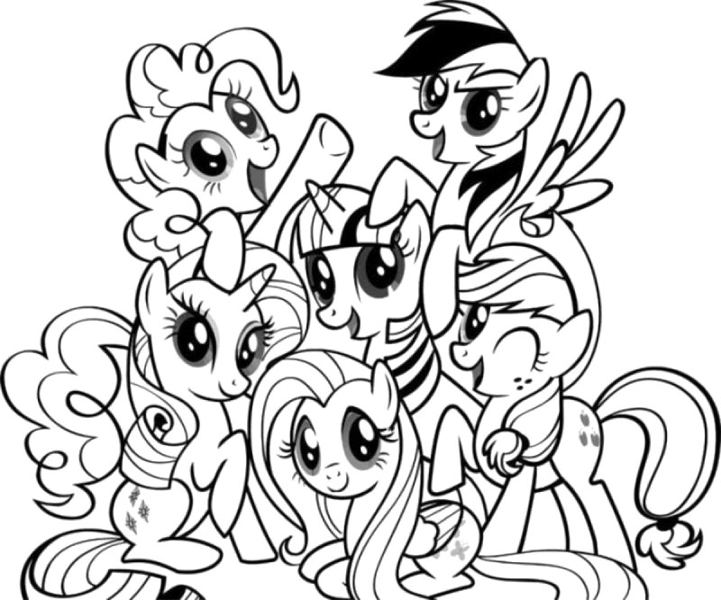 My Little Pony : Twilight Sparkle My Little Pony Coloring Page