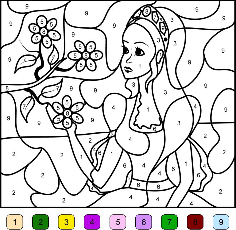 coloriage magique imprimer coloriage