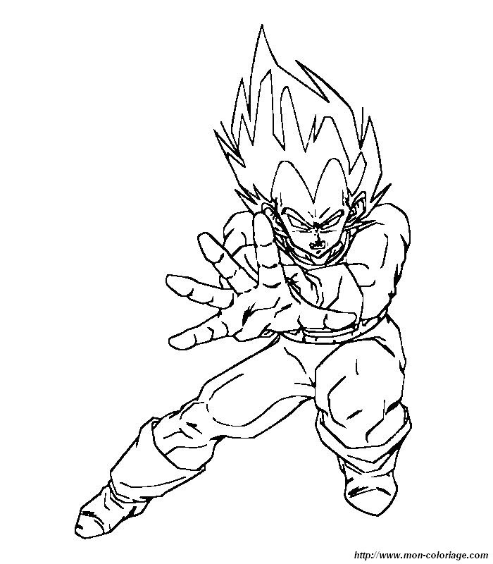 dessin dragon ball z a imprimer