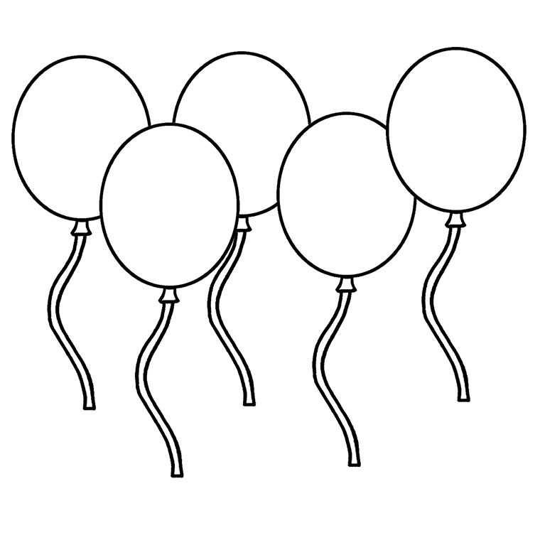 ballon Coloriage