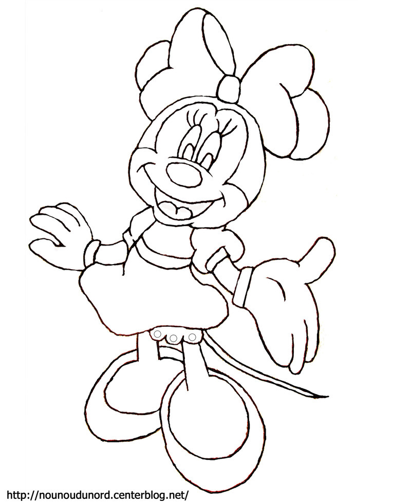 coloriage mickey disney a imprimer