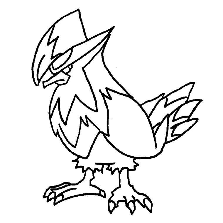 Dessins Pokemon Legendaire Az Coloriage
