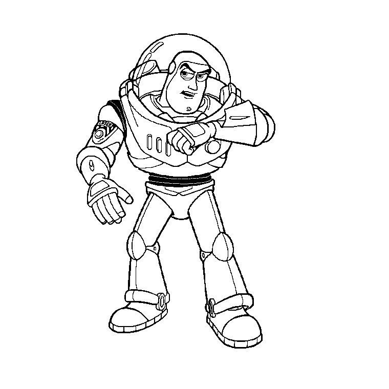 Coloriage Woody Toy Story - AZ Coloriage