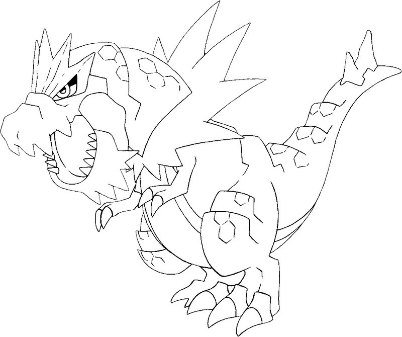 Coloriages Pokemon X et Y Coloriage