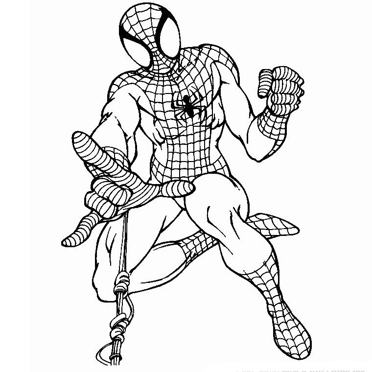 Spiderman A Imprimer Az Coloriage