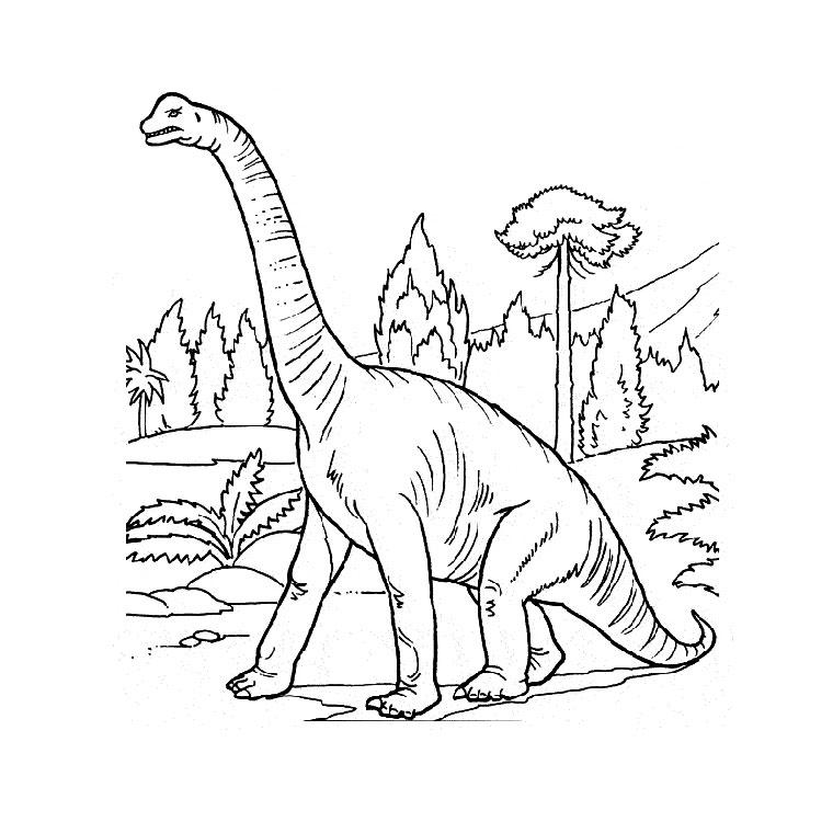 Coloriage Volcan Dinosaure A Imprimer Gratuit Az Coloriage