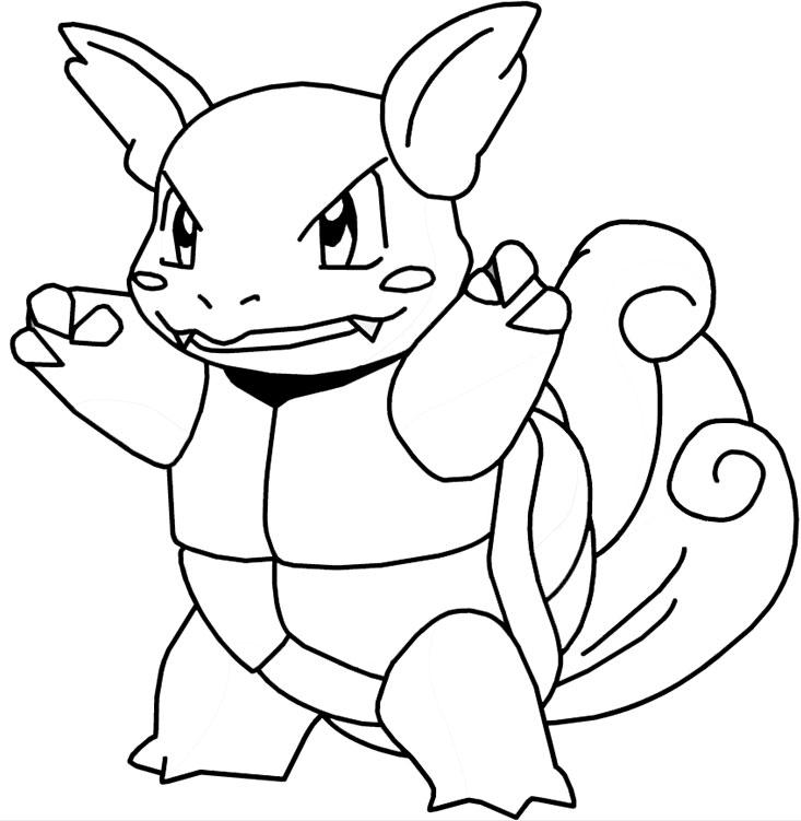 Dessin De Pokemone Az Coloriage