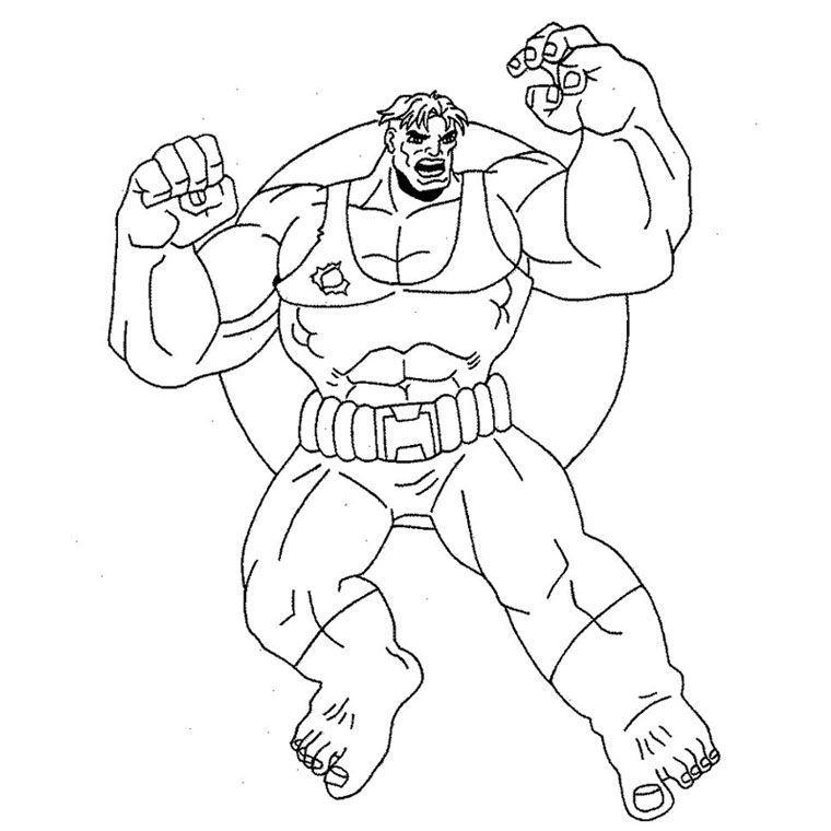 Coloriage Hulk 3 A Imprimer Gratuit Az Coloriage