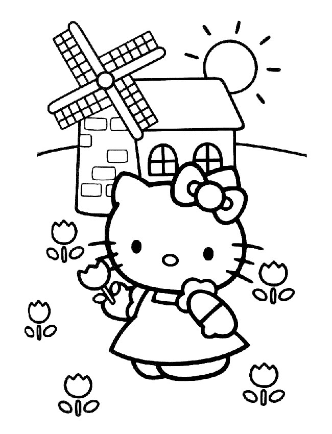 Coloriage - Schtroumpfs, Dragons, Hello Kitty, Barbie, Ariel