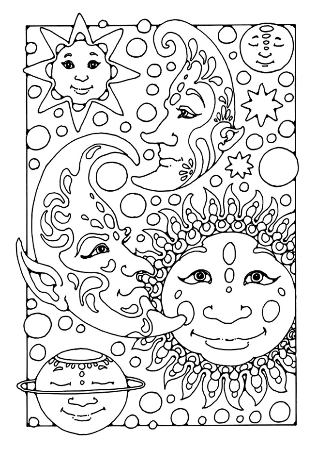 ES FOR ADULTS Colouring Pages