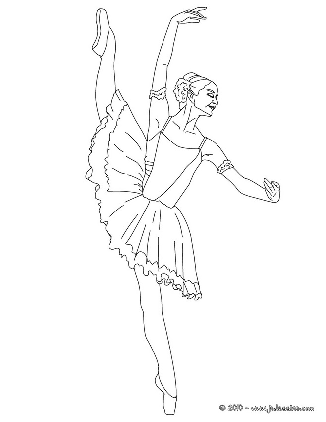 Coloriage Danseuse De Ballet.Coloriage Gala De Danse Danseurs De Gala Coloriage Gratuit Az