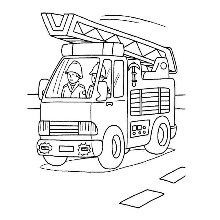 camions Coloriage