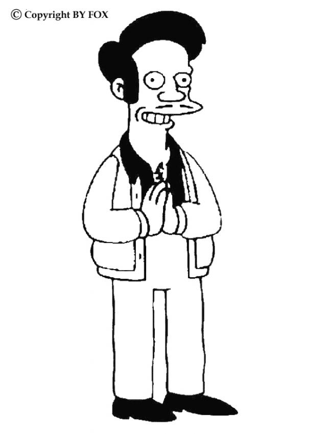 Coloriage SIMPSON - Coloriage de Simpson